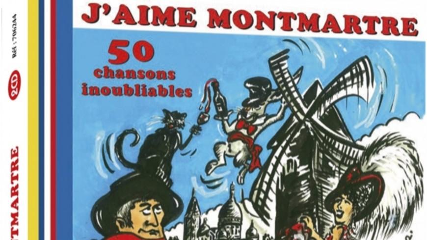 """""""J'aime Montmartre : 50 Chansons inoubliables"""", la compilation officielle de la République de Montmartre !"""