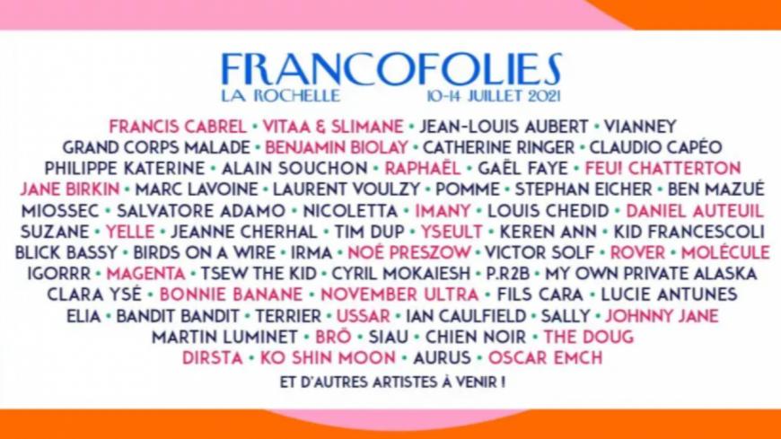 Nicoletta annoncée dans la programmation des Francofolies !